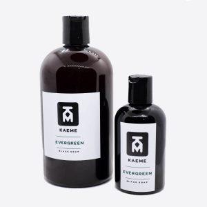 kaeme evergreen black soap