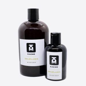 kaeme goldflakes black soap