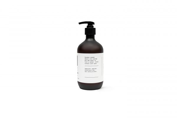 unscented black soap