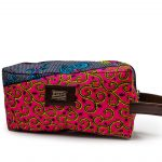 ohemaa print toiletry bag